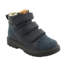 Timberki-Stiefel mit Klettverschluss American Club GC40 marine 1