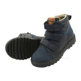 Timberki-Stiefel mit Klettverschluss American Club GC40 marine 5