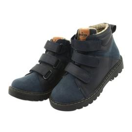 Timberki-Stiefel mit Klettverschluss American Club GC40 marine 3
