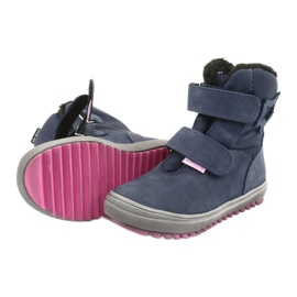 Stiefel mit einer Membran Mazurek 1353 Marineblau 5