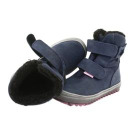 Stiefel mit einer Membran Mazurek 1353 Marineblau 4