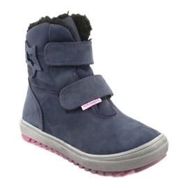 Stiefel mit einer Membran Mazurek 1353 Marineblau 1
