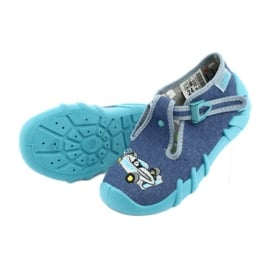 Befado Kinderschuhe 110P320 blau 7