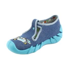 Befado Kinderschuhe 110P320 blau 3
