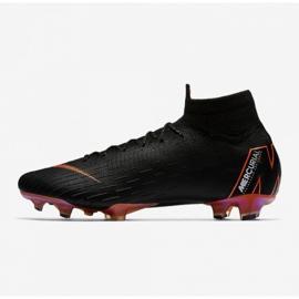 Fußballschuhe Nike Mercurial Superfly 6 schwarz schwarz 1