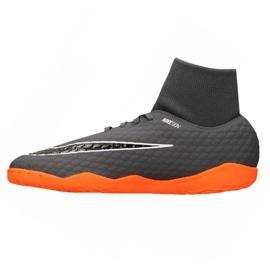 Fußballschuhe Nike Hypervenom PhantomX 3 Academy Df Ic M AH7274-081 grau grau / silber 1