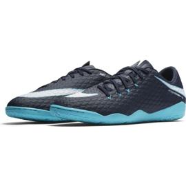 Hallenschuhe Nike HypervenomX Phelon Iii Ic marine marine, blau 1