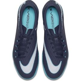 Hallenschuhe Nike HypervenomX Phelon Iii Ic marine marine, blau 3