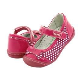 Mädchenballerinas Ren But 1405 pink 4