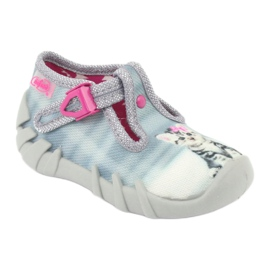 Befado Kitty Kinderschuhe 110P365 grau 1