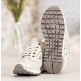 Kylie Durchbrochene Schuhe Auf Der Plattform braun 3