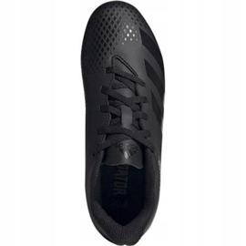 Adidas Predator 20.4 FxG Jr EF1932 Fußballschuhe schwarz schwarz 1