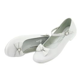 Weiße Miko 806 Ballerinas 3