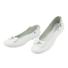 Weiße Miko 806 Ballerinas 1