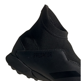 Adidas Predator 20.3 Ll Tf Jr FV3118 Schuhe schwarz schwarz 6