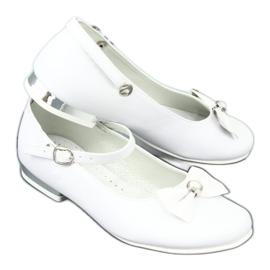 Weiße Miko 806 Ballerinas 6