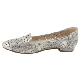 Lordsy Ballerinas Lavendel / Gold Daszyński SA151 2