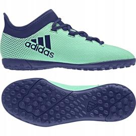 Adidas X Tango 17,3 Tf Jr CP9027 Fußballschuhe türkis mehrfarbig 1