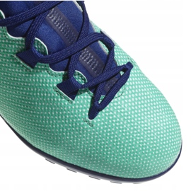 Adidas X Tango 17,3 Tf Jr CP9027 Fußballschuhe türkis mehrfarbig 3