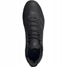 Adidas Predator 20.2 Fg M EF1630 Fußballschuhe schwarz weiß, schwarz 1