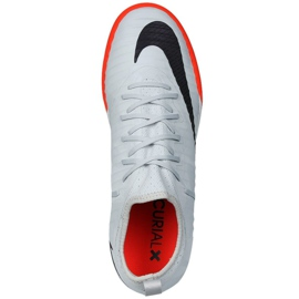 Nike MercurialX Finale II Hallenschuhe grau schwarz 3
