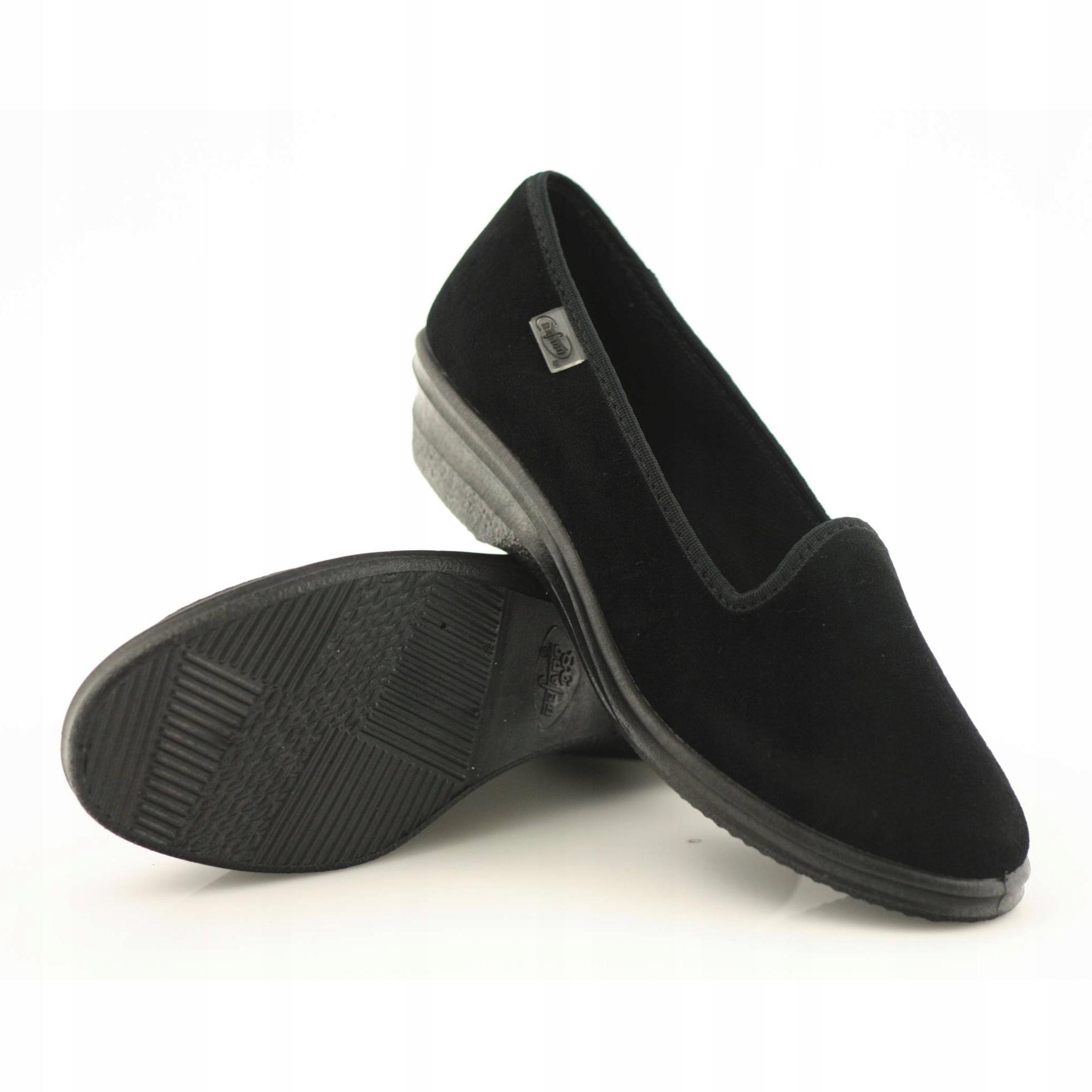 online store 6abbe 66bcb Befado 262D008 Keilabsatz Schuhe schwarz