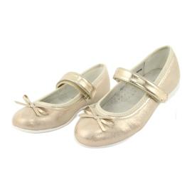 Goldene Ballerinas mit American Club Bogen GC03 / 20 3