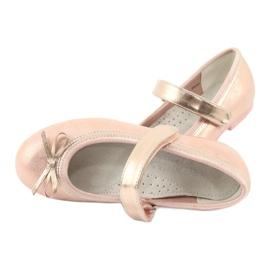 Golden Rose Ballerinas mit American Club Bogen GC03 / 20 5