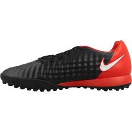 Fußballschuhe Nike MagistaX Onda Ii Tf M schwarz, rot schwarz 1