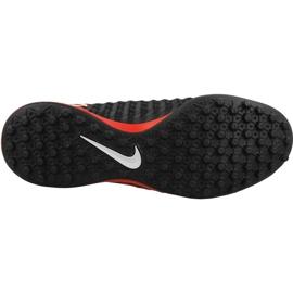 Fußballschuhe Nike MagistaX Onda Ii Tf M schwarz, rot schwarz 2