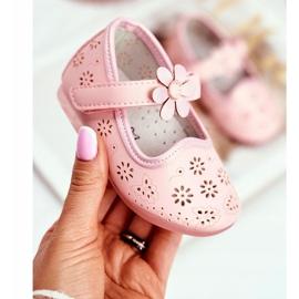 Apawwa Kinderwohnungen Klettblume Rosa Flored pink 1