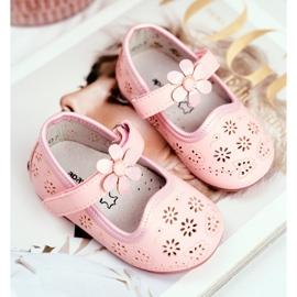 Apawwa Kinderwohnungen Klettblume Rosa Flored pink 2