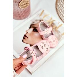 Apawwa Kinderwohnungen Klettblume Rosa Flored pink 4
