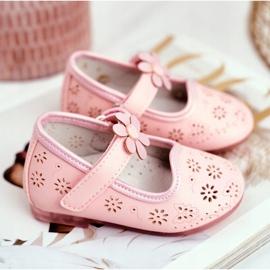 Apawwa Kinderwohnungen Klettblume Rosa Flored pink 3