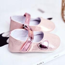 Apawwa Baby Sneakers Klettverschluss Taufe Pink Bellawa 3