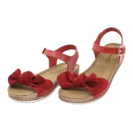 Comfort Inblu Damenschuhe 158D117 rot 3