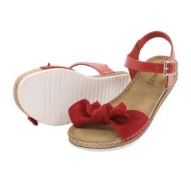 Comfort Inblu Damenschuhe 158D117 rot 4