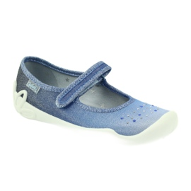 Befado Kinderschuhe 114Y316 blau 2