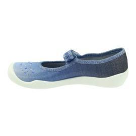 Befado Kinderschuhe 114Y316 blau 3