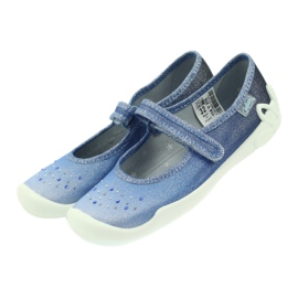 Befado Kinderschuhe 114Y316 blau 4