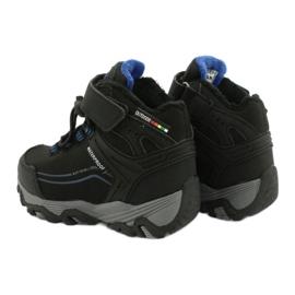 Softshell-Stiefel mit American Club-Membran schwarz blau 4