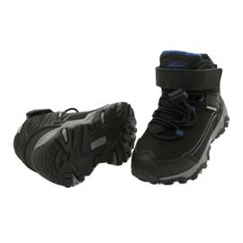 Softshell-Stiefel mit American Club-Membran schwarz blau 3