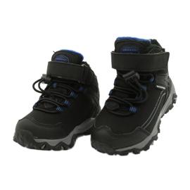 Softshell-Stiefel mit American Club-Membran schwarz blau 2