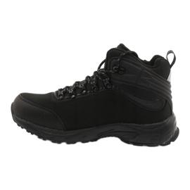 American Club Amerikanische Trekking-Softshell-Stiefel mit Membran schwarz 1