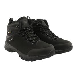 American Club Amerikanische Trekking-Softshell-Stiefel mit Membran schwarz 4