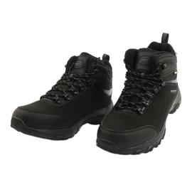 American Club Amerikanische Trekking-Softshell-Stiefel mit Membran schwarz 2