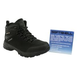American Club Amerikanische Trekking-Softshell-Stiefel mit Membran schwarz 5
