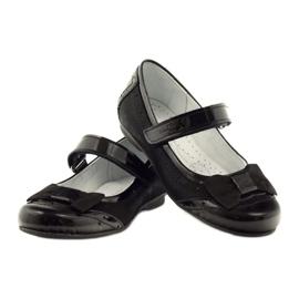 Ren But Ballerinas schwarz Bogen Leder Ren Aber 4202 3
