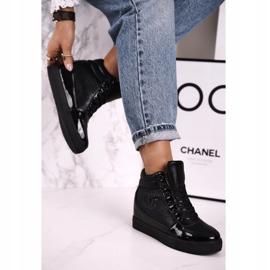 Haver Damen Sneakers Stiefeletten Black Carol schwarz 2
