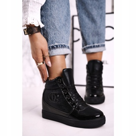 Haver Damen Sneakers Stiefeletten Black Carol schwarz 1